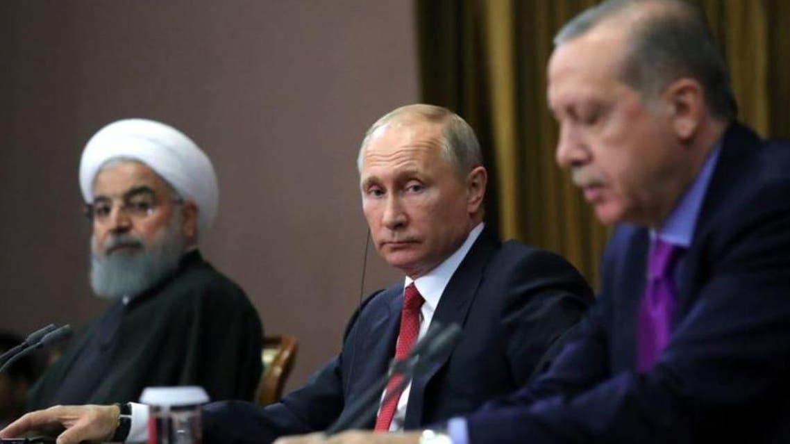 Turkey, Russia and Iran