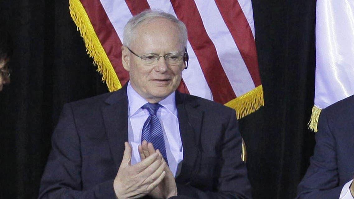 James Jeffrey US envoy to Syria. (AP)