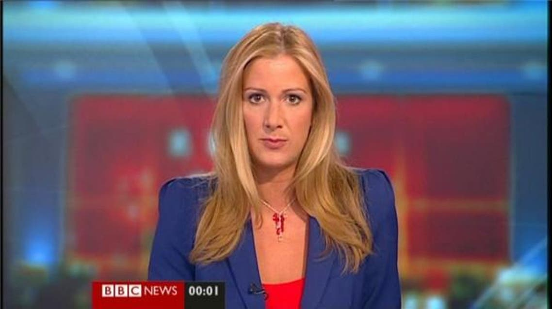 She began her BBC career more than 15 years ago as Rachael Hodges and married fellow BBC journalist Steve Bland in 2013. (Screengrab)