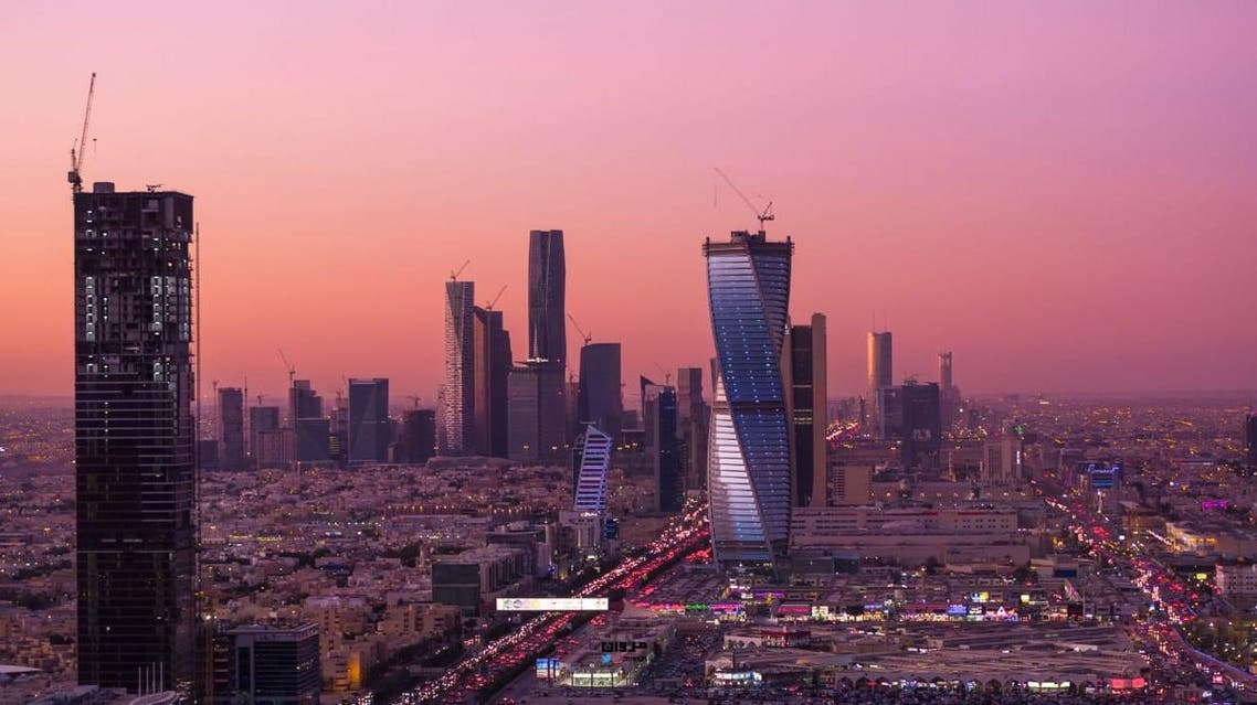 A stoick image of Saudi Arabia's Riyadh skyline. (File photo)
