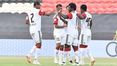 الجزيرة يكتسح الفجيرة بخماسية في كأس الخليج العربي