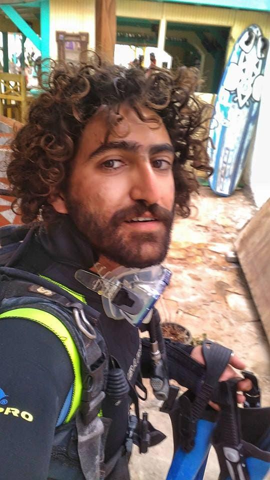 الغطاس محمد هاني الذي كشف الواقعة والتقط الصور