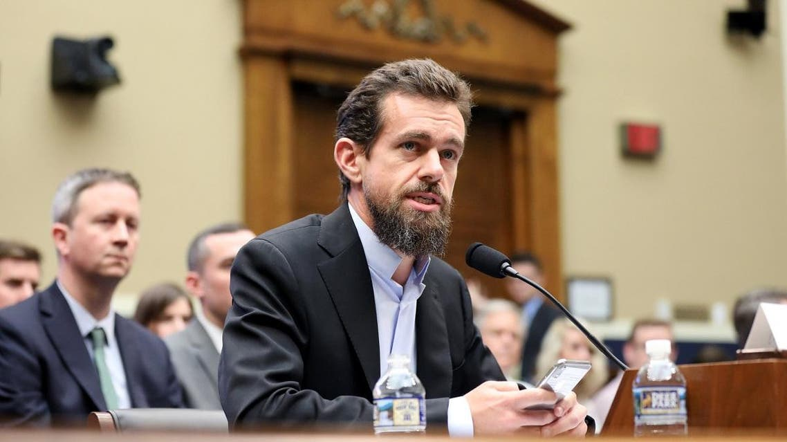 Twitter CEO Jack Dorsey testifies before the House Energy and Commerce Committee hearing on Twitter's algorithms and content monitoring on Capitol Hill in Washington, on September 5, 2018. (Reuters)