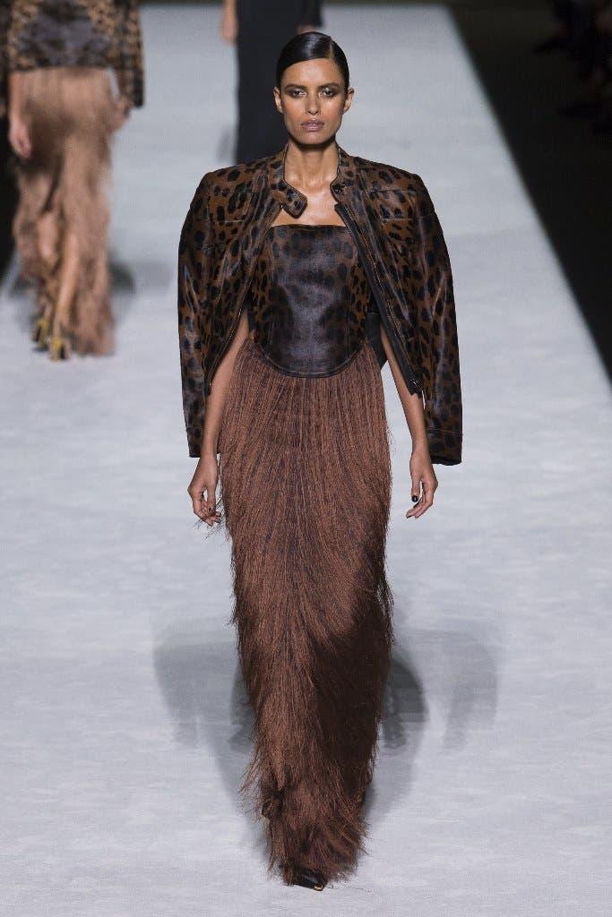 a62e055b 46d9 44b0 b9bf 1815da4cda60 توم  فورد يفتتح اسبوع الموضة في نيويورك وجيجي حديد تتألق في العرض!!!