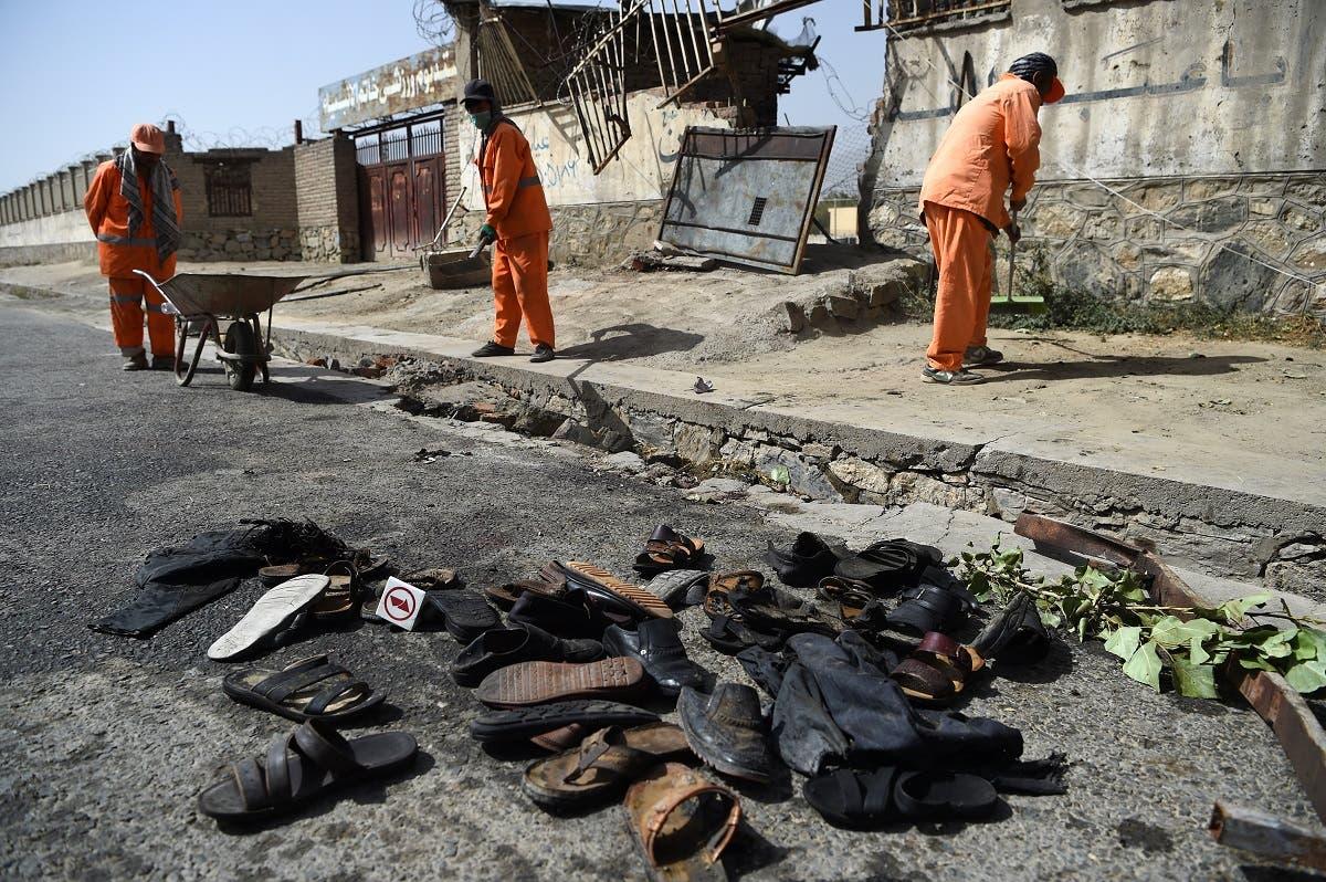 Twin blasts in Kabul destroy wrestling club. (AFP)