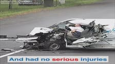 WATCH: You won't believe how this sleeping driver survived a major accident