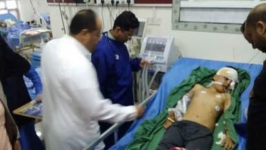 مسلح حوثي يطلق النار على رأس طفل..  والسبب كرة قدم