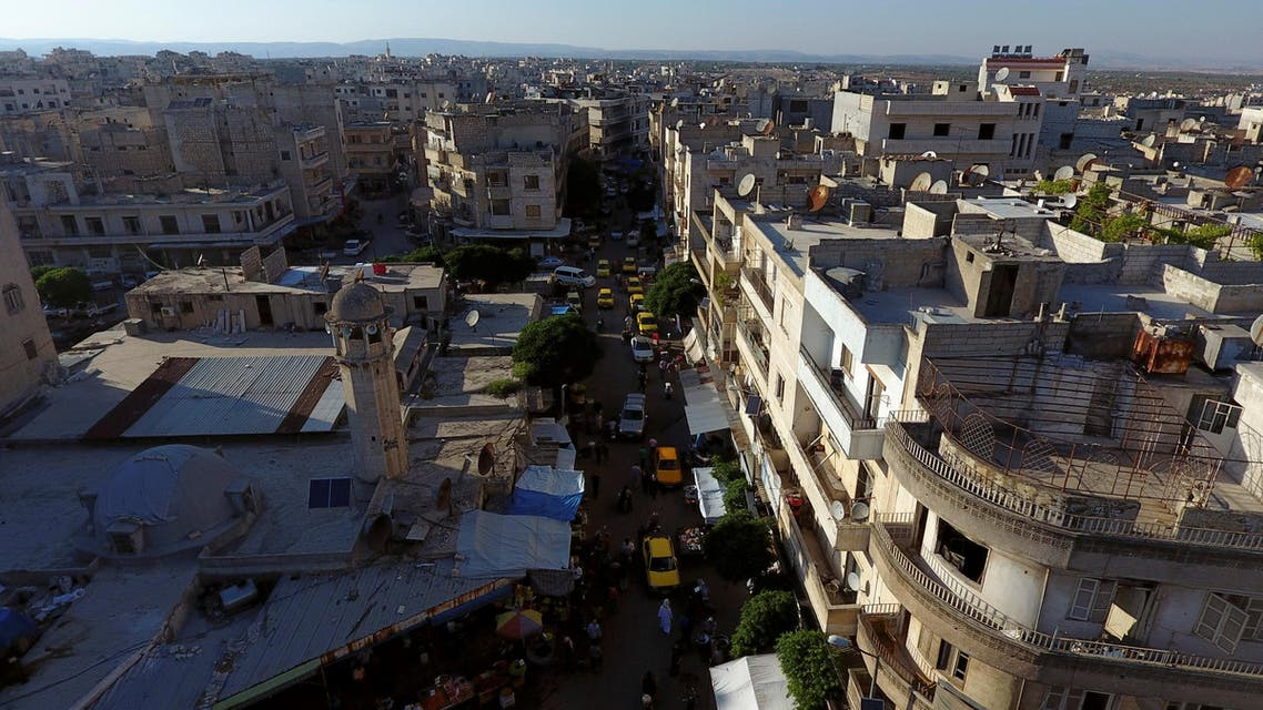 Russian air raids targeted rebel positions in the southwest of the province, the Syrian Observatory for Human Rights said. (File photo: Reuters)