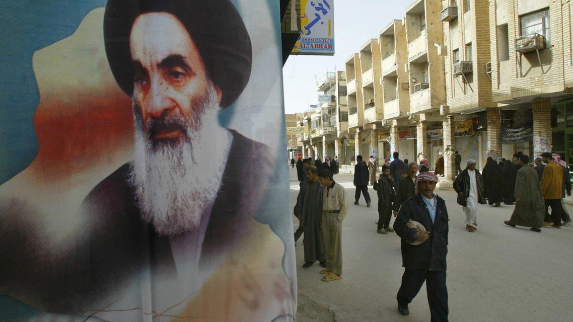 Iraq Sistani. (AFP)