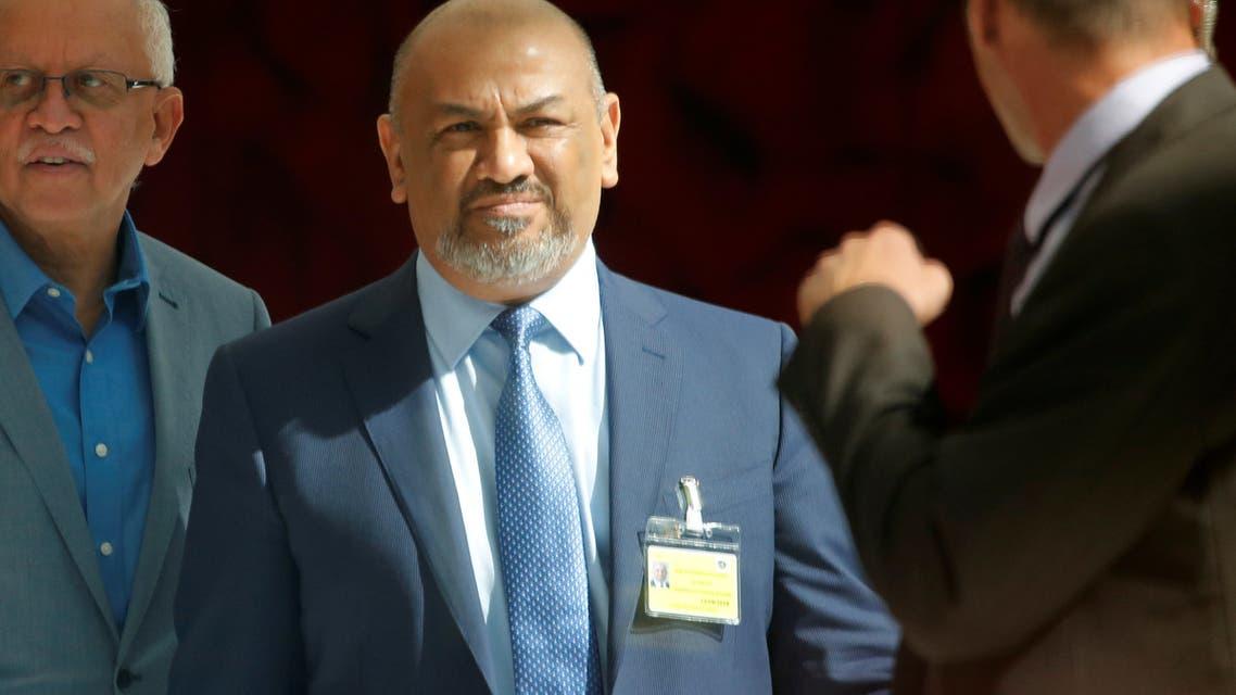 خالد اليماني وزير الخارجية اليمني