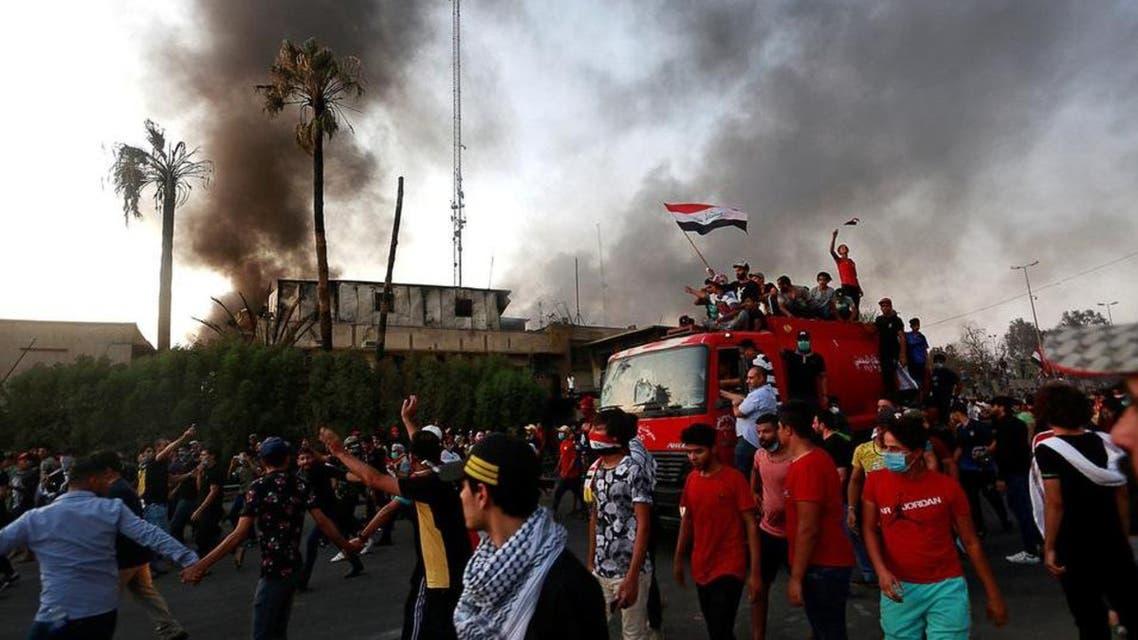 iraq basra protest
