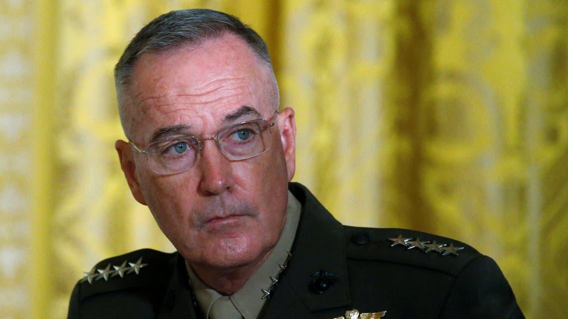 الجنرال جوزيف دانفورد رئيس هيئة الأركان الأمريكية المشتركة