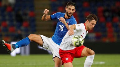 """إيطاليا تتعادل مع بولندا بصعوبة في """"الأمم الأوروبية"""""""