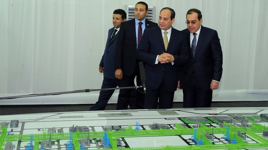 Egypt Zihr gas field (AFP)
