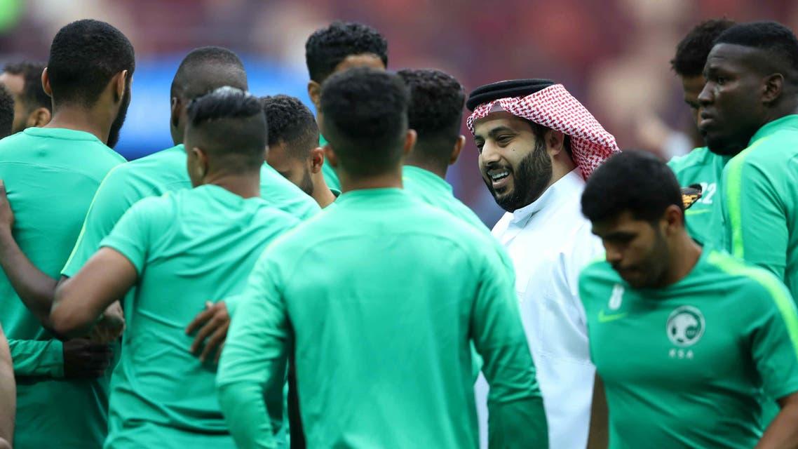 آل الشيخ المنتخب السعودي
