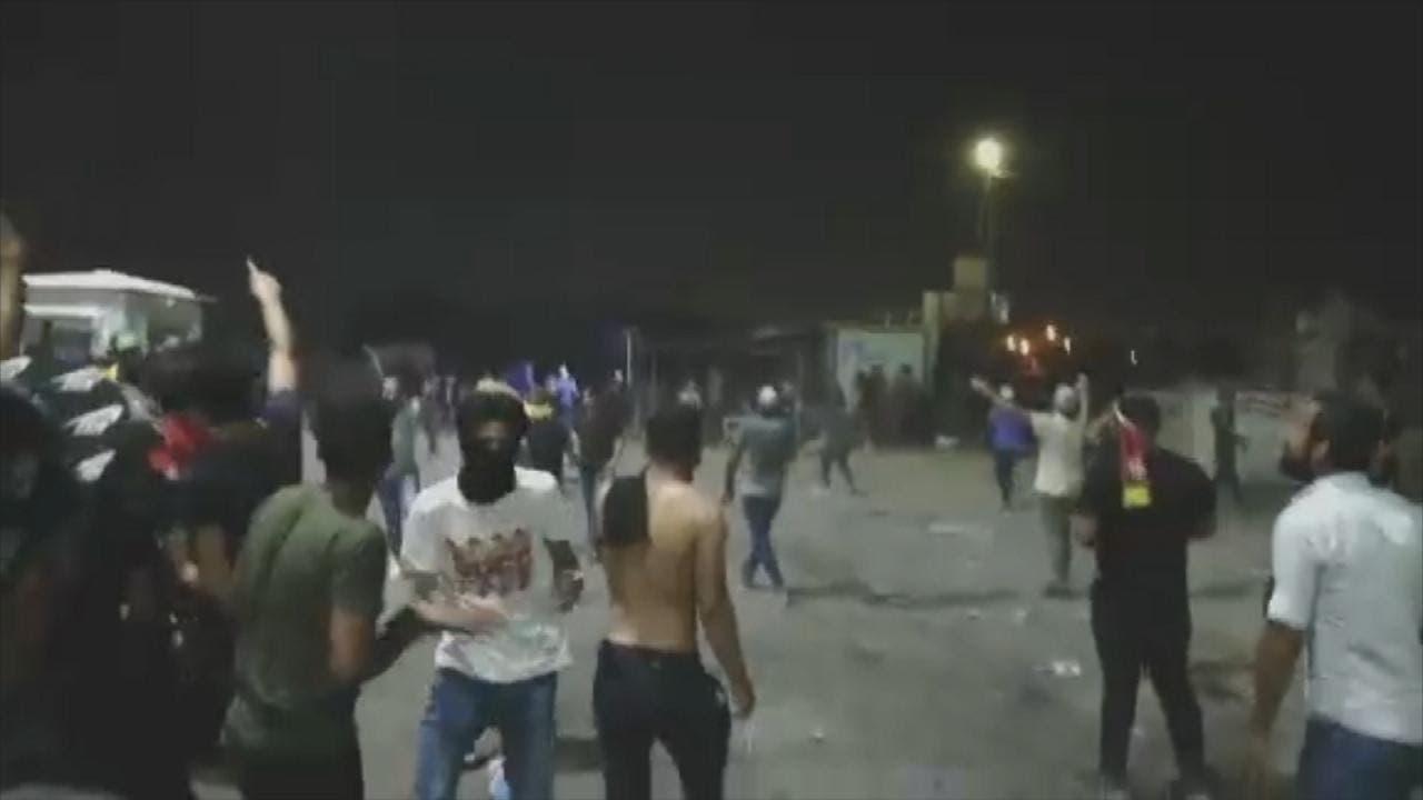 Basra demonstrators 1