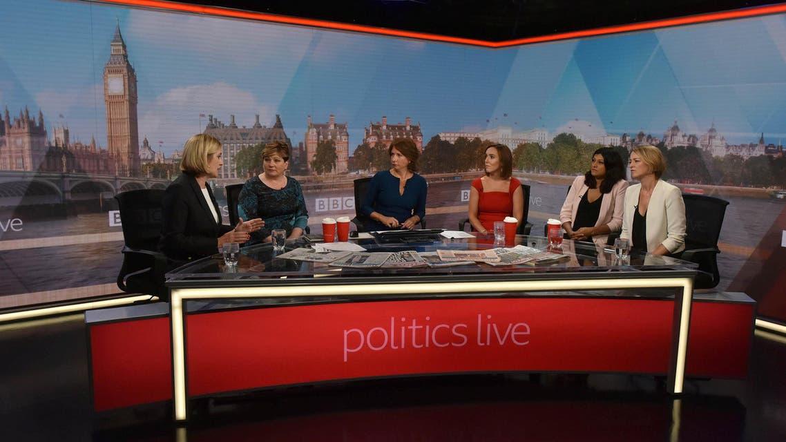 BBC politics live show. (Reuters)