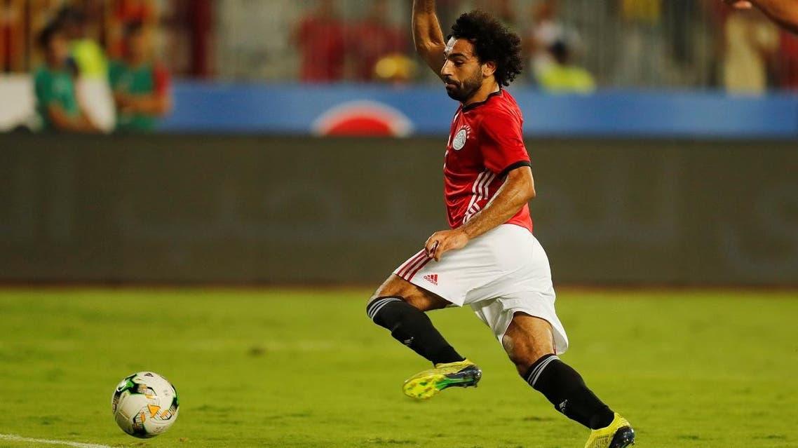 Egypt's Mohamed Salah in action. (Reuters)