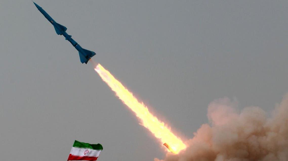 Iranian missile (AFP)