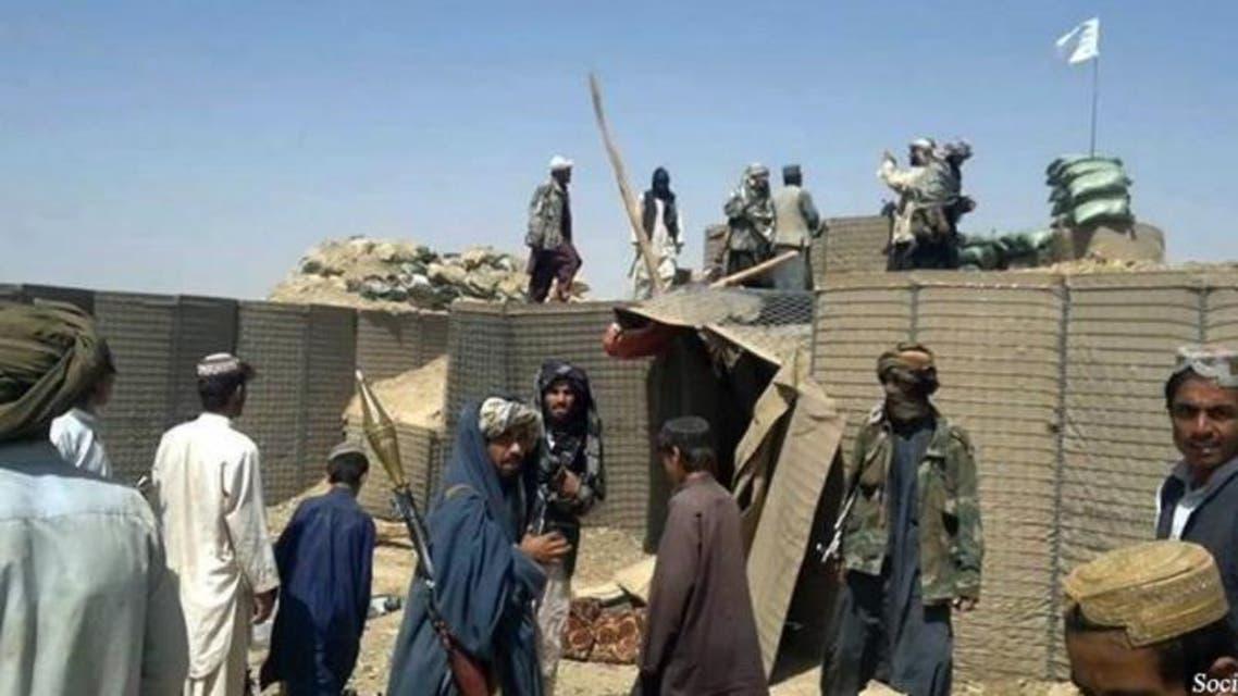 ولسوالی دایمیرداد ولایت میدان وردک افغانستان سقوط کرد