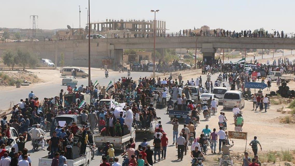 عكس آرشيوي از سورىها در ادلب