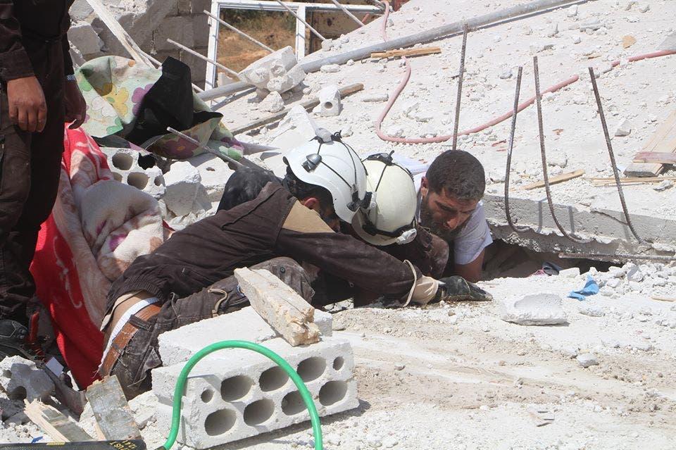 من بلدة #عابدين في إدلب