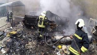 کشته شدن 21 غیرنظامی از جمله چند کودک در بمباران سنگین استان ادلب سوریه