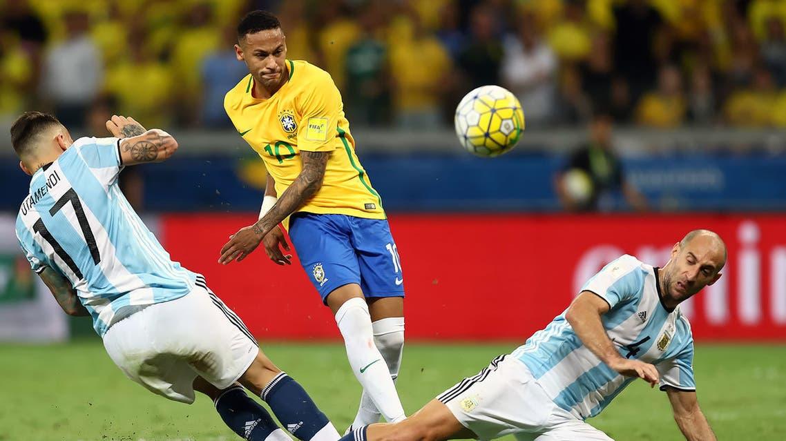 البرازيل الأرجنتين نيمار