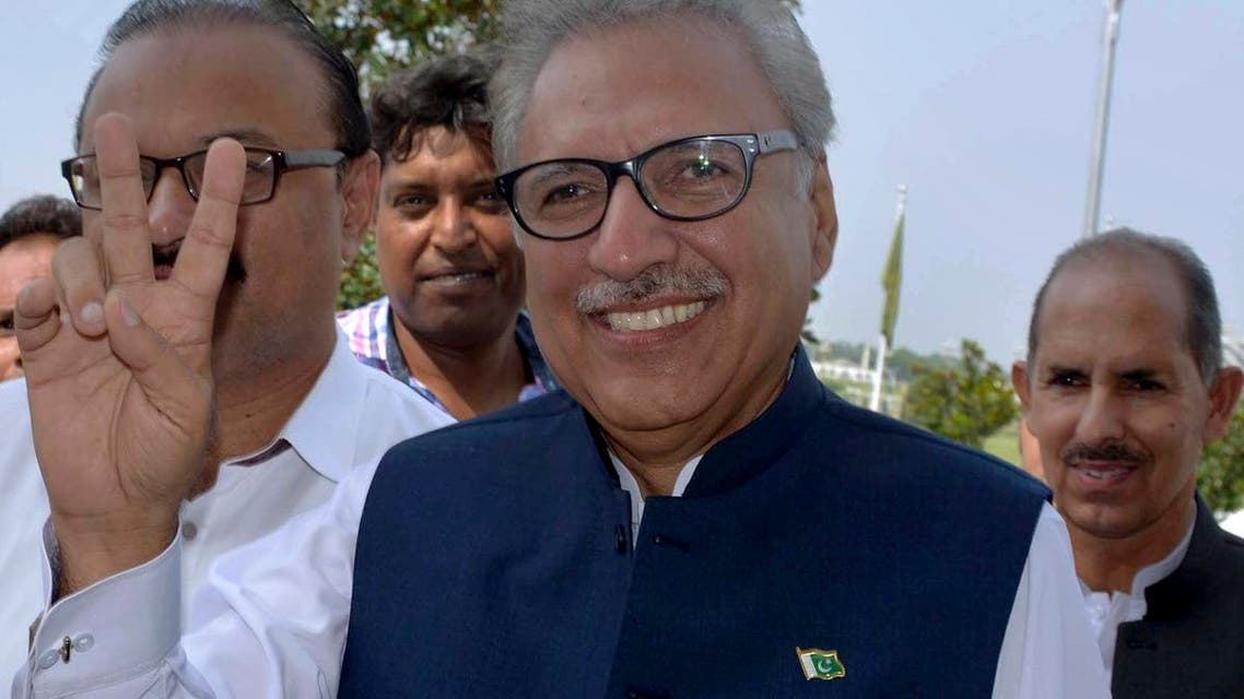 Arif Alvi of the ruling Pakistan Tehreek-e-Insaf Party was on Sunday sworn in as President of Pakistan, the new ceremonial head of the state. (AP)