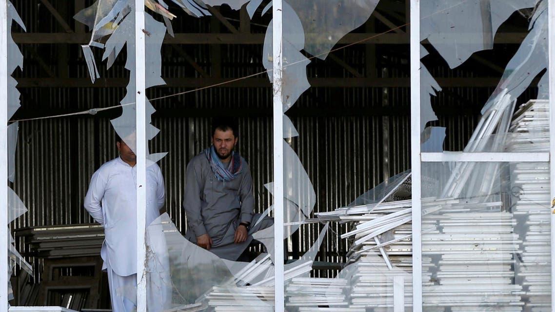 Kabul blast September 9, 2018. (Reuters)