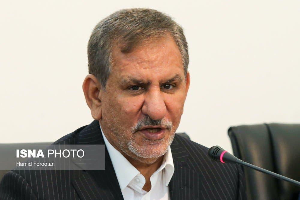 إسحاق جهانغيري نائب الرئيس الإيراني