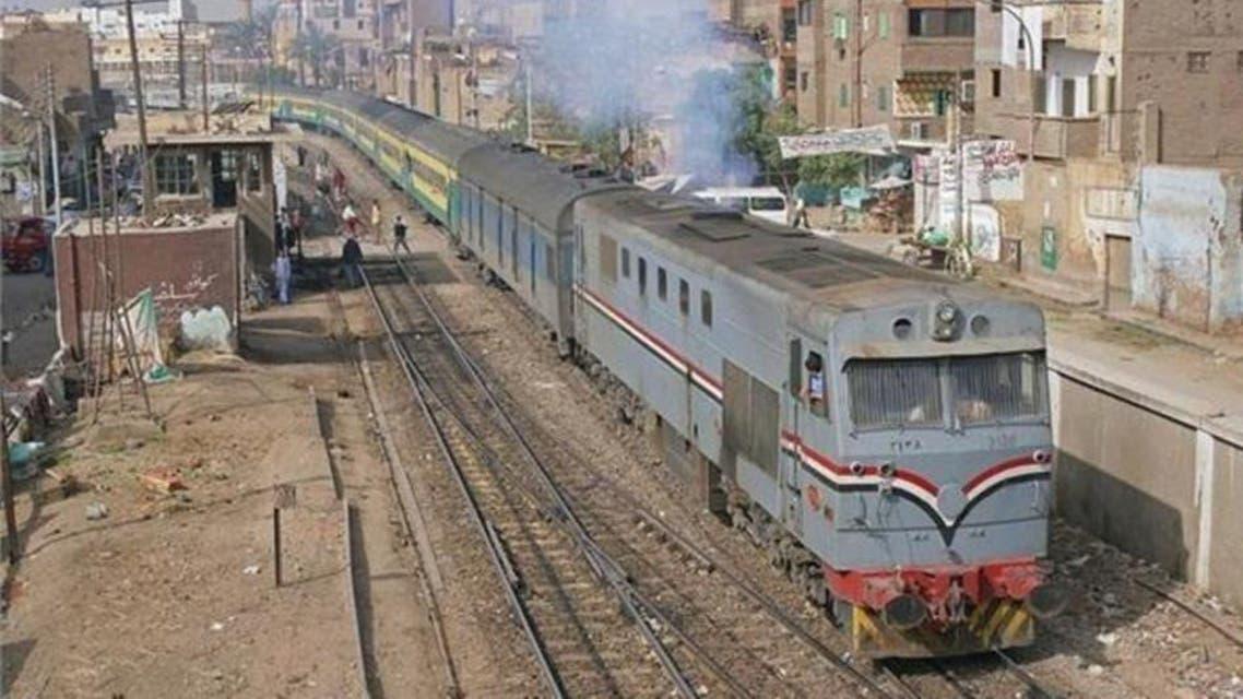 Egypt, Birth in Train