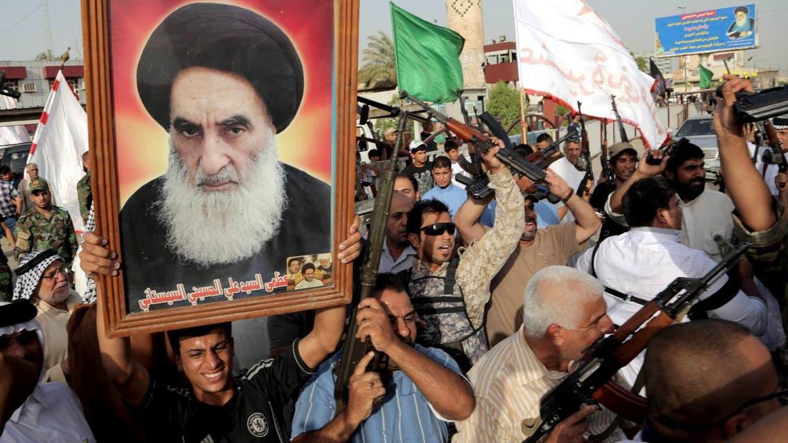 Iraq's top Shiite cleric Grand Ayatollah Ali al-Sistani. (File photo: AFP)