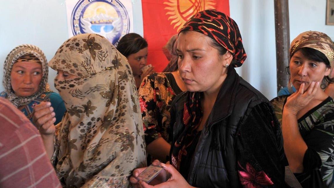 Uzbek hijab. (AFP)