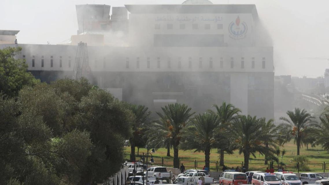 هجمات انتحارية على مؤسسة النفط الليبية