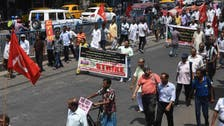 Indian opposition leads protests at high fuel prices