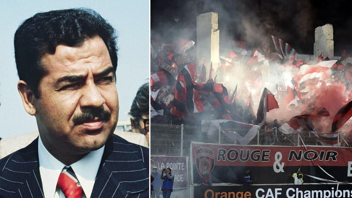 Saddam Hussein chants force Iraqi Air Force club to halt match against USM Alger
