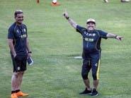 """مارادونا مدرباً لـ """"خيمناسيا لا بلاتا"""" الأرجنتيني"""