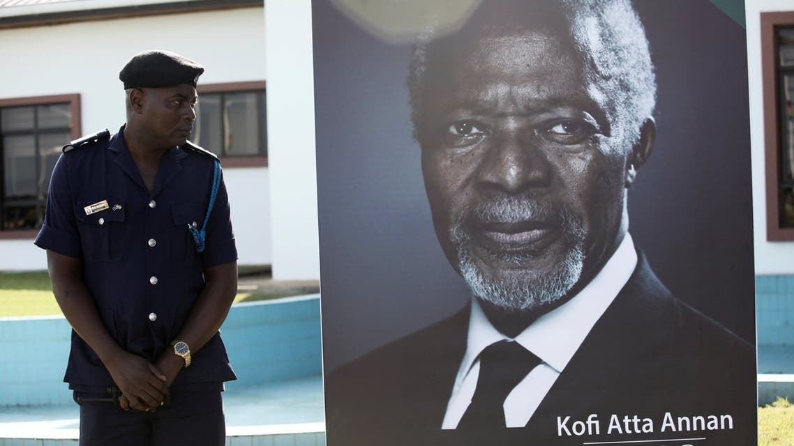 Reauters Kofi Annan كوفي عنان