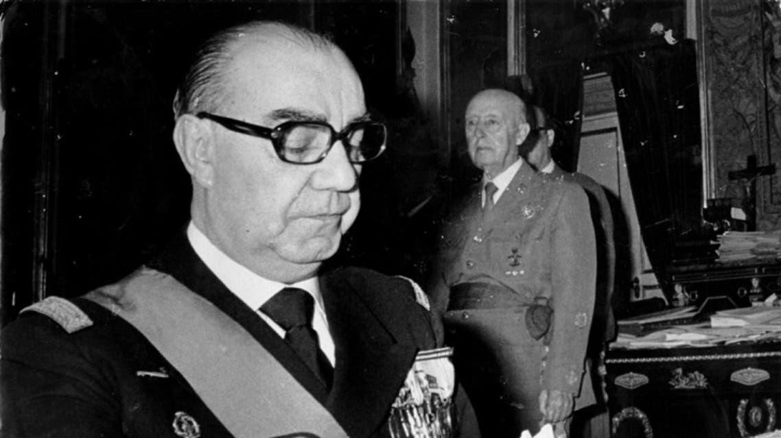 صورة لرئيس الوزراء الإسباني لويس كاريرو بلانكو