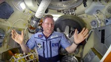In video message, Russian cosmonaut allays concern about hole in space lab