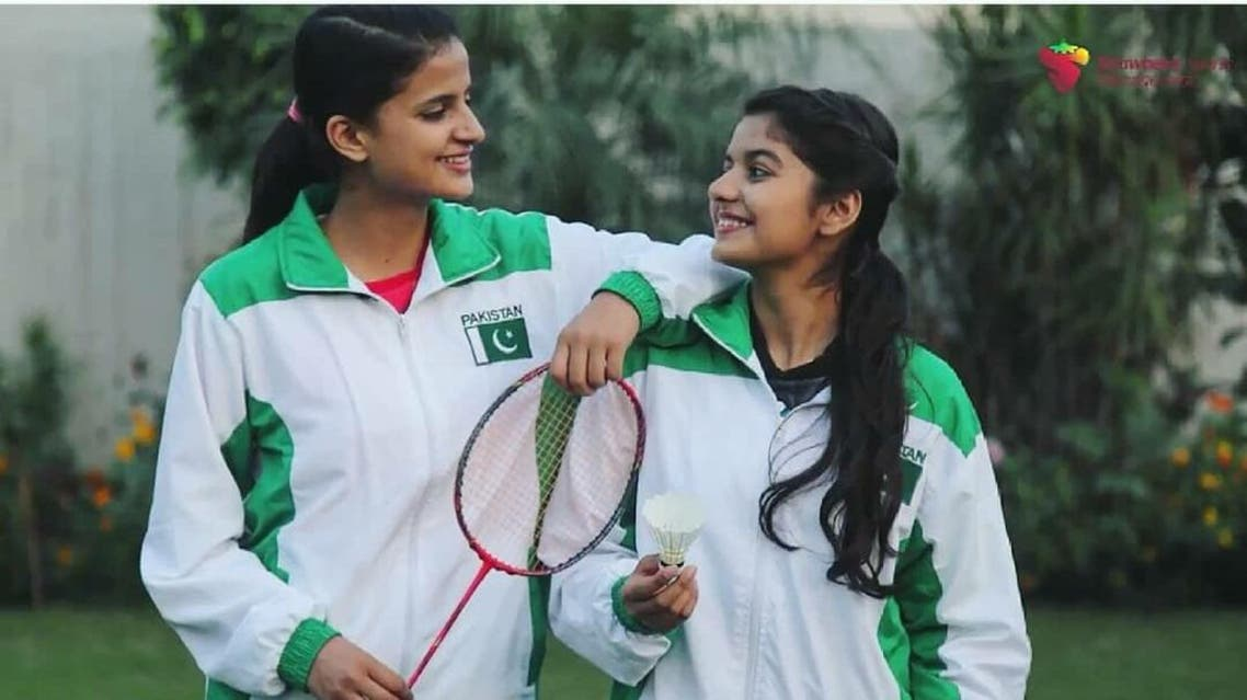 From table tennis to badminton, the Masood sisters have been dominating the sports fields for years. (Supplied)