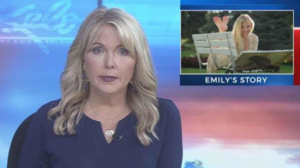 گوینده اخبار یک شبکه آمریکایی خبر درگذشت دختر خودش را اعلام کرد