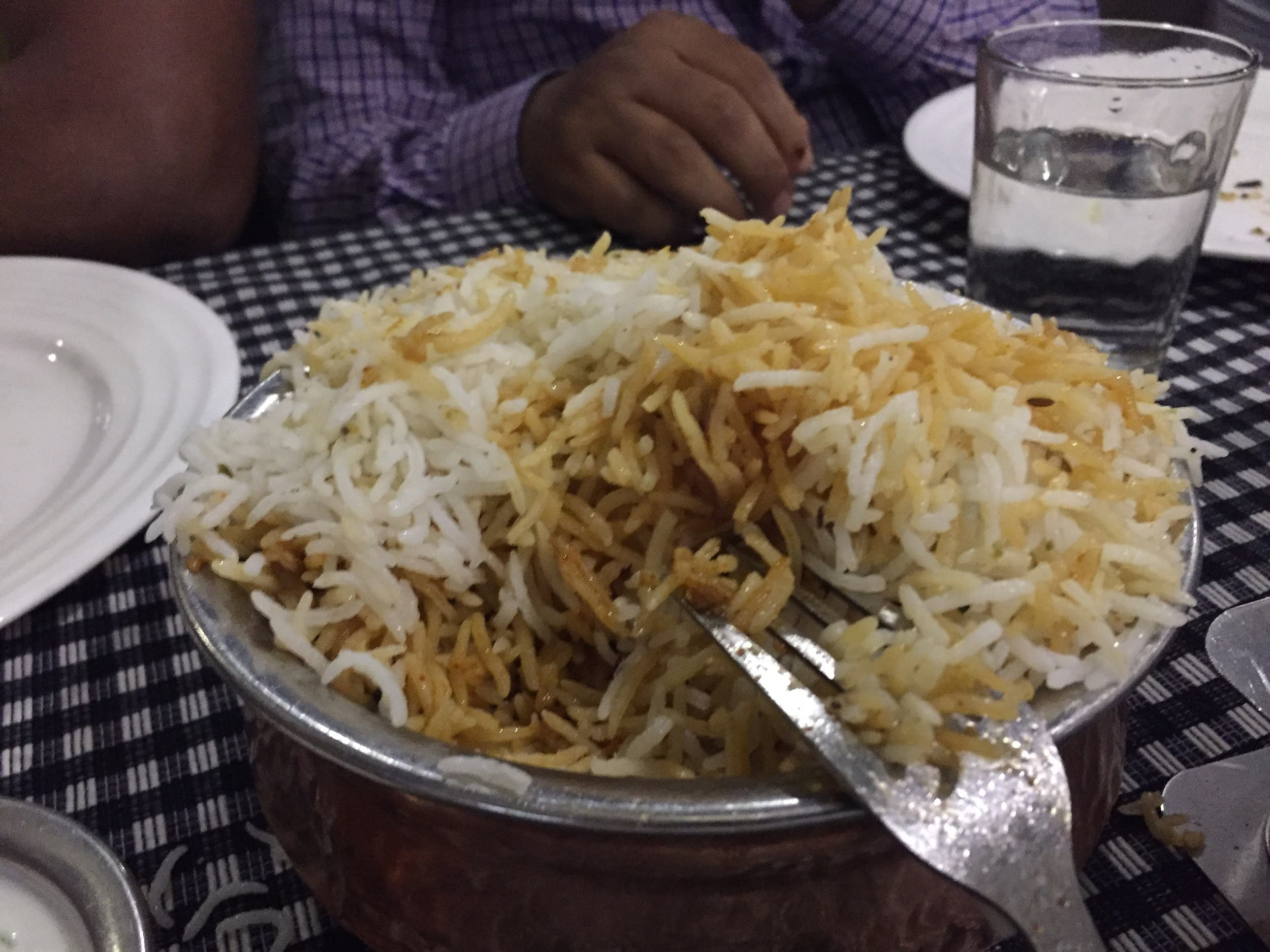 One of the most famous Indian biryani, the Hyderabadi Biryani, was introduced by the Nizams of Hyderabad, who were great patrons of rich food. (Supplied)