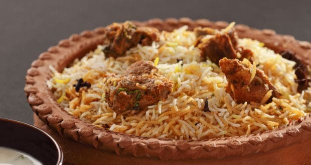 Also known as Awadhi Biryani or Dum Pukht Biryani, it was introduced to Lucknow in Uttar Pradesh in the royal kitchens of the Nawabs of Awadh. (Supplied)