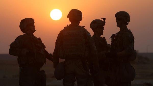 جنود أميركيون في قاعدة بالموصل