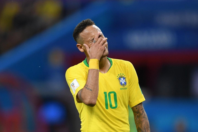 نيمار بقميص المنتخب البرازيلي
