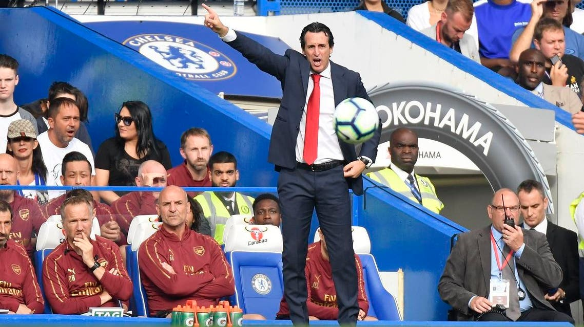 Arsenal manager Unai Emery. (Reuters)