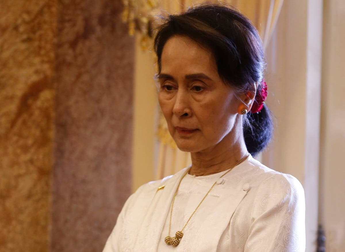 Suu Kyi, Myanmar's deposed leader. (AFP)