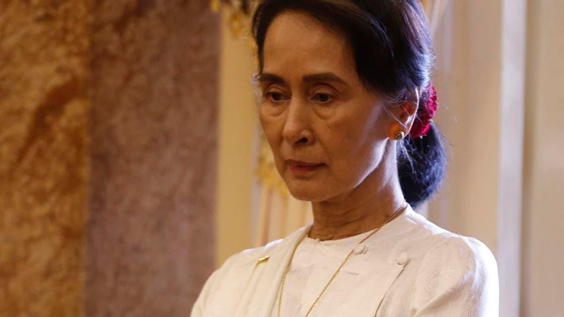 Suu Kyi myanmar. (AFP)